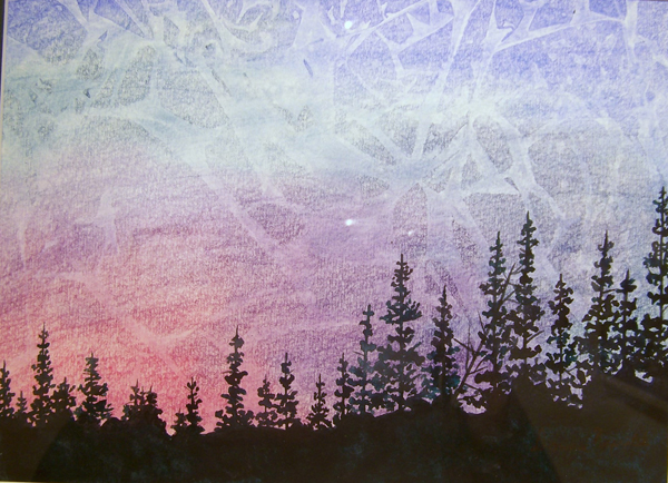 Mountain Magic By Donna Naprstek Acrylic