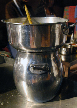 Moroccan kitchenwares. Leslie Savage photo