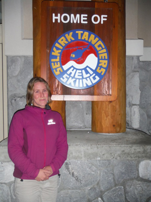 Collette Poirier knows the benefits of having diverse staff. As the human resources person at Selkirk Tangiers Heli-Skiing, she is proud that staff members speak 11 languages between them, including Japanese, Latvian and Swahili – and she would welcome more. Photo courtesy of Colette Poirier
