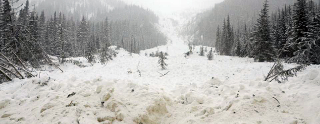 Avalanche Canada is issuing a special public avalanche warning for the mountains of BC's interior, including the North Rockies, Cariboos, North Columbia, South Columbia, Purcells, Kootenay Boundary, South Rockies, the Lizard Range and the Flathead.  Jim Bay photo courtesy of Avalanche Canada