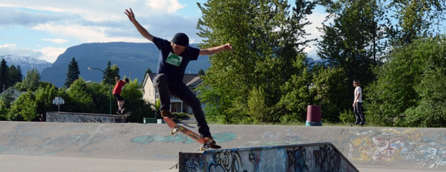 The Columbia Valley Skateboard Association is holding its first skatepark design input session on November 27. The first skatepark design input session starts with an open house at 6 pm, followed by a facilitated design session from 7–9 pm. Photo courtesy of the Columbia Valley Skateboard Association
