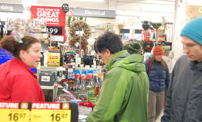 Call it Black Friday  or call it Moonlight Madness, the last Friday in November was a real boon to retailers like Home Hardware. David F. Rooney photo