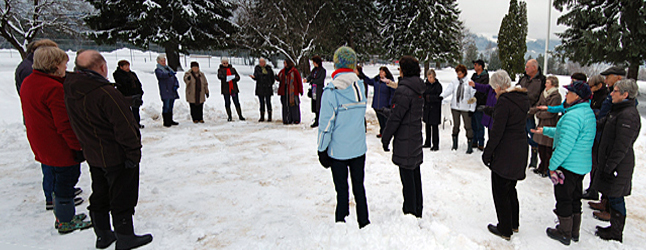 Every year Revelstokians gather at Queen Elizabeth Park to share the burden of their private grief during a few moments in quiet prayer and companionship. It's a poignant moment that helps those of us who gather at the Circle of Life Tree break through the darkness that afflicts us as we remember our loved ones who have passed from this life to the next. David F. Rooney photo