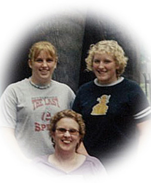 Donna Jean Smit (show here with her daughters, Kristen and Jenna) 1963 - 2014