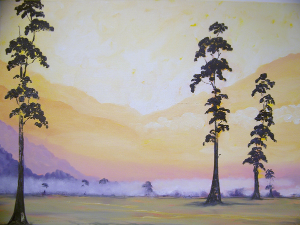 Sue Davies Remnant of the Dawn #2 Oil paint