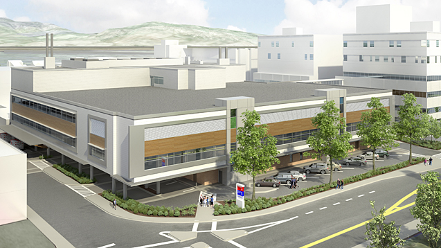 The Interior Heart & Surgical Centre, which will provide top quality surgical care to patients from throughout Interior Health, is due to open in Kelowna this fall. Interior Health illustration