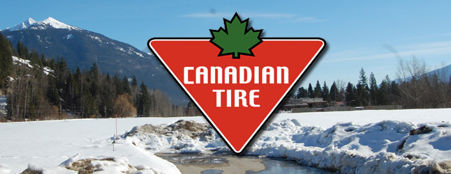 By now many people — perhaps even most — will have heard that something about Canadian Tire making a bid to come to town. Beyond that most probably know very little. Here are many — if not all — of the facts regarding what some think could have been an economic blessing… Revelstoke Current Adobe Photoshop illustration