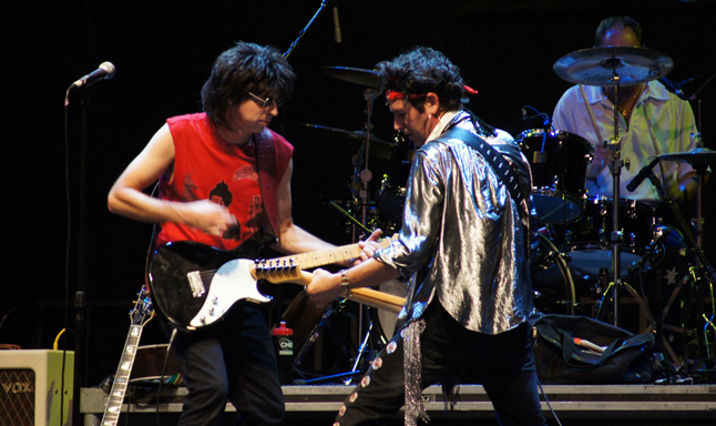 The Rolling Stones tribute band, Hot Rocks, comes close to delivering a true replica experience. Photo courtesy of Hot Rocks