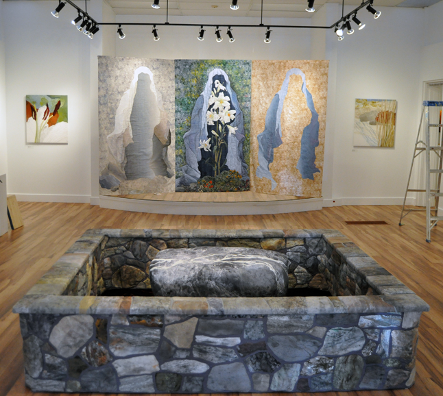 If you are anything like me you'll be absolutely gobsmacked by what you see at this evening's opening at the Revelstoke Visual Arts Centre. I won't say anything else as I don;t want to play the spoiler. David F. Rooney photo