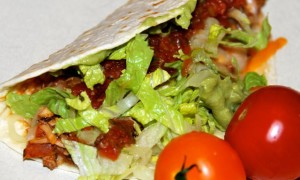 Use packaged taco mix for a really easy simple supper.