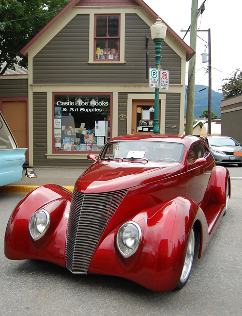 1937 Ford, two-door coupe owned by John and Helena Kernaghan of Enderby. David F. Rooney photo