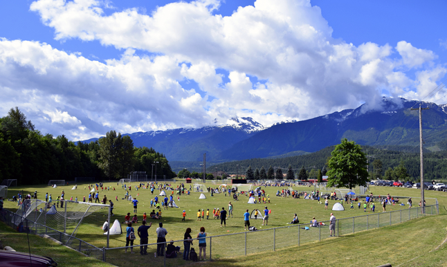 The annual RYSA Soccer Wind-up took place on Saturday, June 20, and 39 local Revelstoke soccer teams of all ages took to the fields for their final games of the season. Eleanor Wilson photo