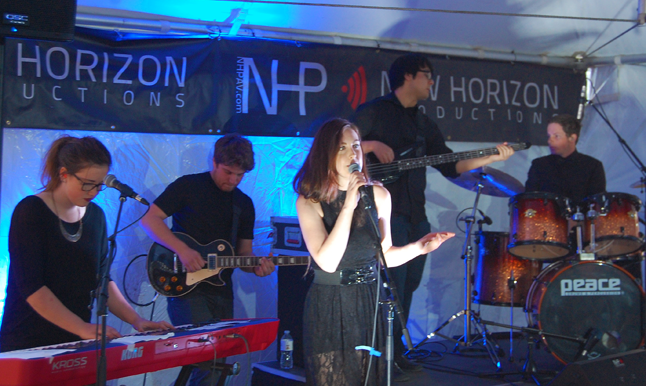 Jodi Pederson and her band. David F. Rooney photo