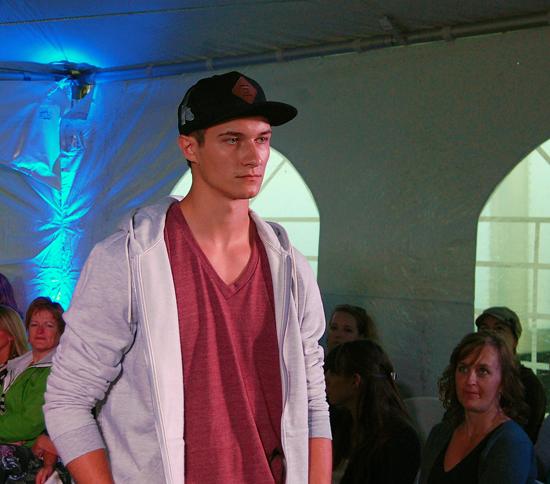 Kyle Weninger of Déjà vu Model Management wearing Quiksilver and Alternative Apparel. David F. Rooney photo