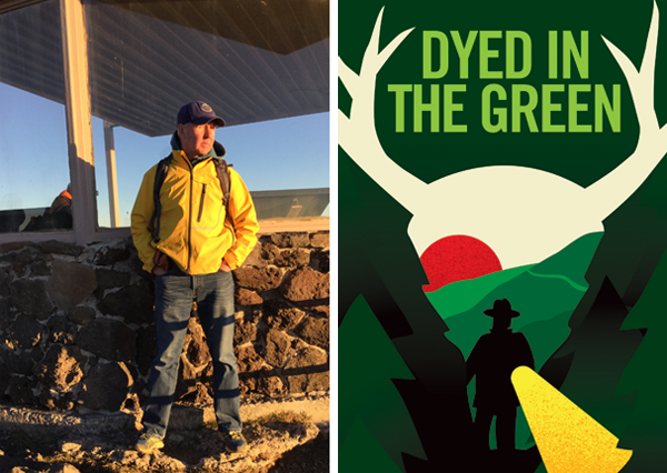 George Mercer, a former national park warden and new author, will be at Grizzly Book and Serendipity Shop on Monday, July 20, from 11am 'til noon to sign copies of his debut novel Dyed In The Green. Photo courtesy of George Mercer