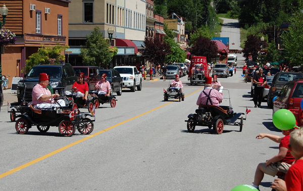A parade just isn't a parade without the Shriners in their mini-cars. David F. Rooney photo