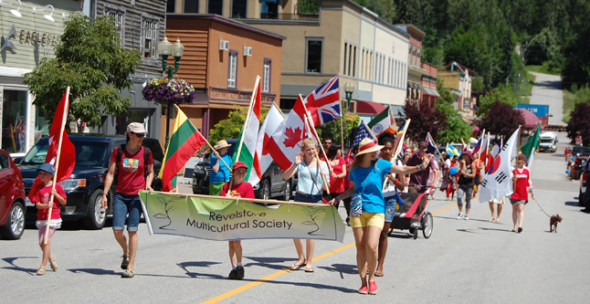 The Multicultural Society was out in force for the parade! David F. Rooney photo