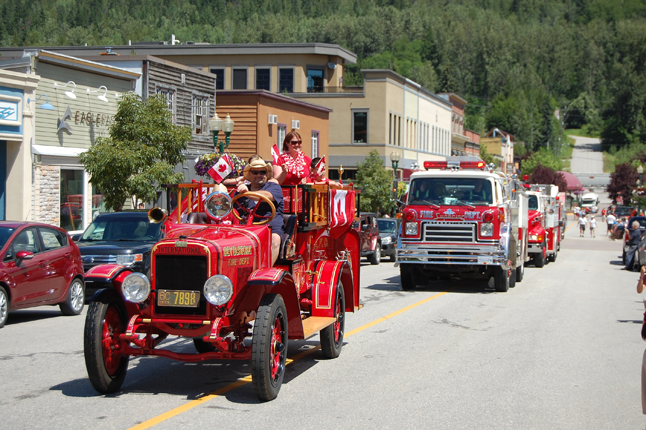 And finally, as always, the brave men and women of our city's Fire Rescue Service and BC Ambulance Service brought up the rear of the parade. David F. Rooney photo