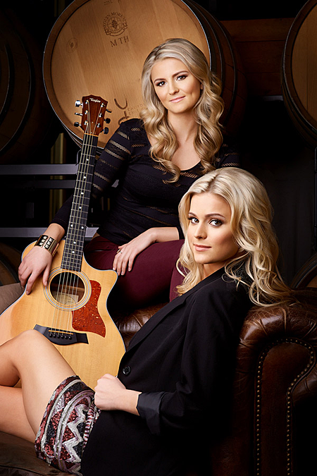 Robyn & Ryleigh are a country music sister act from Langley who are making their first appearance at the Summer Street Festival in Revelstoke on August 24 and 25. One of the songs they'll be performing is I Found You, which was written by Robyn and Ryleigh during a songwriting trip to Nashville and it was produced by Paul Shatto and David Wills, who have worked with a variety of Canadian artists like The Higgins and The Matinee.