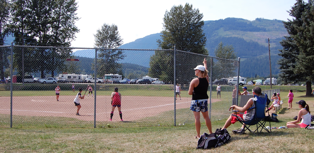 The Glacier Challenge has been a real family affair over the years but hundreds of the men and women who enjoyed it 25 years ago are generally past the age when they can say they really enjoy whacking and fielding softballs under a blazing sun. The challenge organizers have to make new family connections or reinvigorate those that see tired. David F. Rooney photo