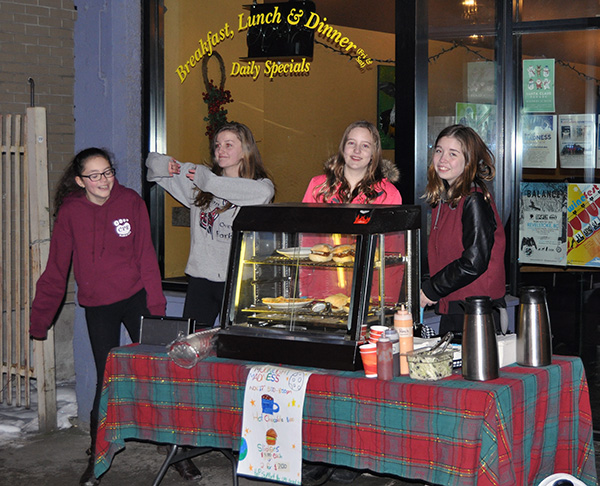 Barely two shops away from the cookie-seeping Guides, this fun-loving young local girls offering up delicious pulled pork sliders. David F. Rooney photo