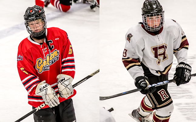 The 'Player Of The Game' Awards went to Rockets #6 Daton Durning and Grizzlies #19 James LeBuke. Jason Portras photo