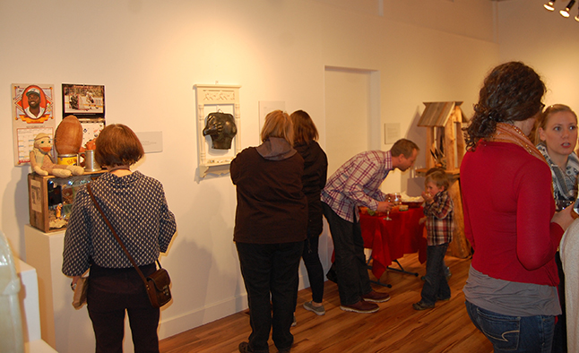 There was something for just about everyone during the Altars, Shrines and Curiosities exhibition opening last Friday. David F. Rooney photo