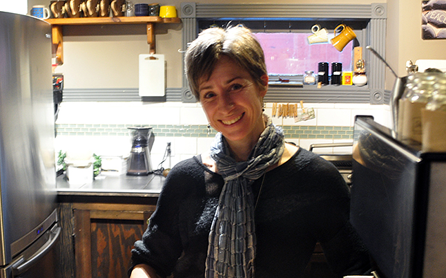 The very idea of a Death Café sounds a tad macabre but this event scheduled for Thursday, February 25, at Sangha Bean Café is anything but weird and morbid. In fact, says Krista Cadieux, it promises to be psychologically healthy and life-enhancing. Krista should know, she's not only the café's proprietor, she is also Revelstoke's first death doula. David F. Rooney photo