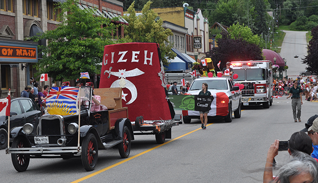 The Shriners were out in force. David F. Rooney photo