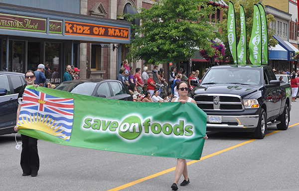 Save On Foods participated, too. David F. Rooney photo