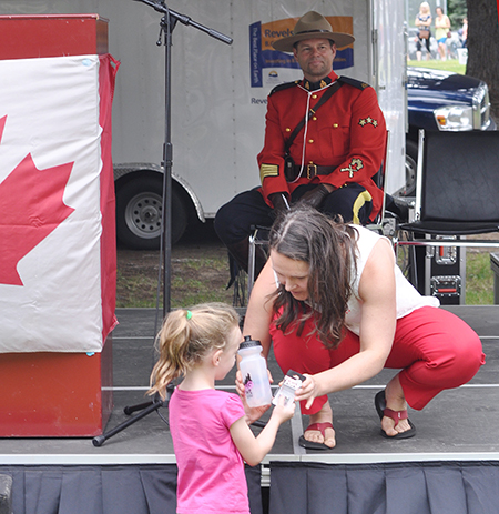 This little girl also won an award. David F. Rooney photo