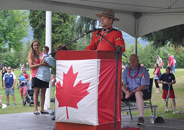 RCMP Staff Sgt. Kurt Grabinski said our local Mounties are proud of the kind of community that Revelstoke is proving itself to be. David F. Rooney photo