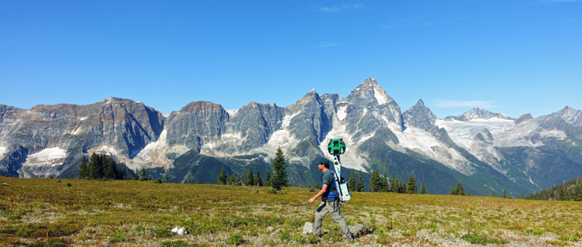 Believe it or not you can now plan your trip to Mount Revelstoke and Glacier national parks - or visit them virtually - using Google Street View. Seventeen stunning trails and sights from around Mount Revelstoke and Glacier national parks have now been added to Google Street View by a Parks Canada staffer who cruised the parks with a Street View Trekker on his back last summer, Allison Fleischer, the parks' external relations manager, said in a recent statement. Photo courtesy of Parks Canada