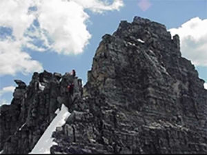 A climbing accident on Mount Tupper in Glacier national park has resulted in the death of an alpinist from Vancouver, Revelstoke RCMP said Tuesday, July 26. This Parks Canada image shows the mountain's West Ridge. Parks Canadsa / Jordy Shepherd photo