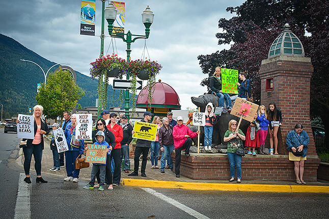 They gathered to let everyone know the depth of their anger. John Morrison photo