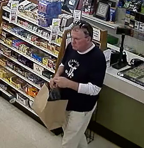 The Mounties are asking for your help in identifying an unknown man who was observed on video surveillance stealing property from the Peoples Drug Mart on Monday June 27 at 9:25 am. This adult then left the store without making any effort to pay for the item. If you recognize this man, you are asked to please contact Const. Ling with the Revelstoke RCMP. All Crime Stoppers calls remain anonymous and information is utilized to apprehend those responsible for various crimes. If you have any information about this crime or any other criminal act, please contact the Revelstoke RCMP at 250-837-5255 or Crime Stoppers at 1-800-222-8477. Please click on the link below to visit their webstite. Photo courtesy of Crime Stoppers