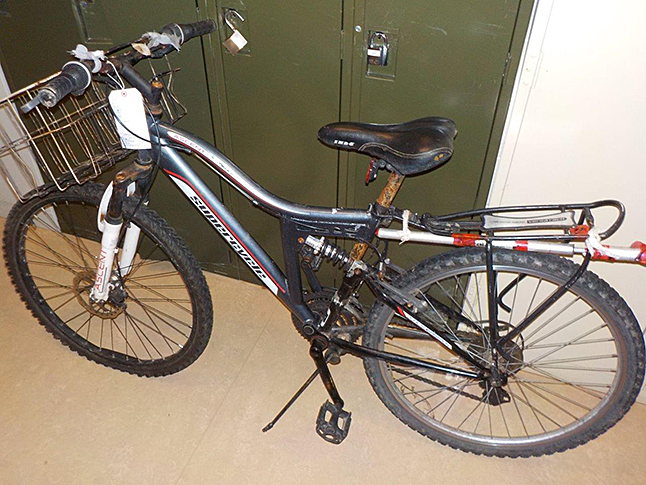 Do you recognize this bike? Photo courtesy of the Revelstoke RCMP