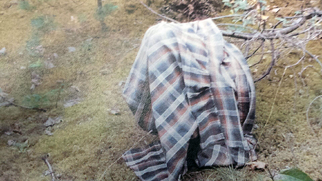 Do you remember seeing a man wearing this jacket? Photo courtesy of the Revelstoke RCMP