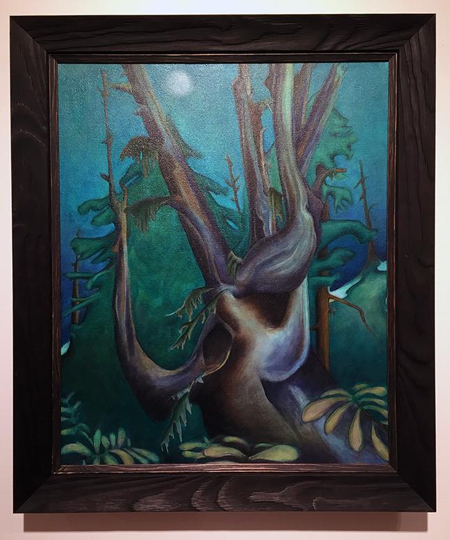 Big Momma Snag By Kate Brooks-Heinimann acrylic on canvas