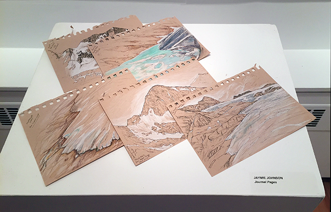 Journal Pages By Jayme Johnson