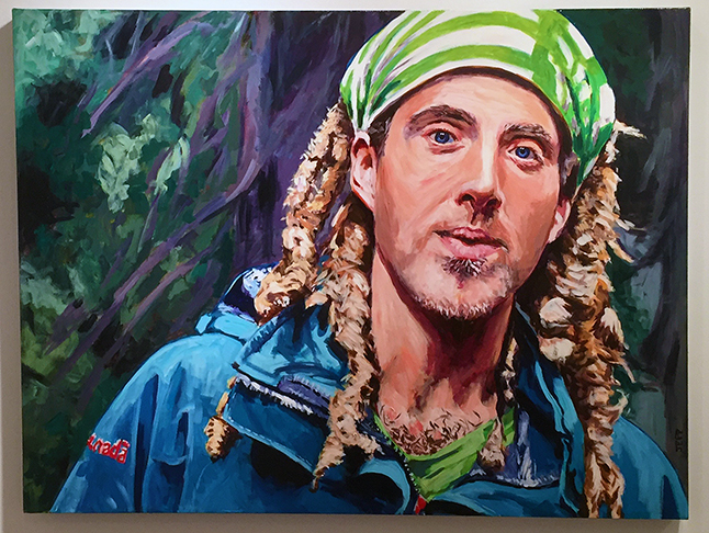 Fred Dread By Jeff Wilson Acrylic on canvas