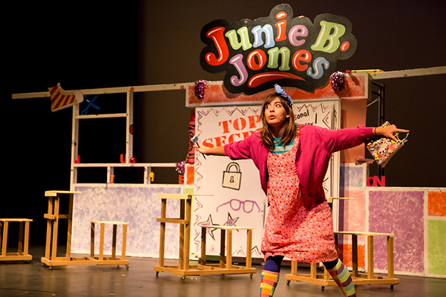 Junie B Jones turned out to be a show chocked full of serious fun. Jason Portras photo