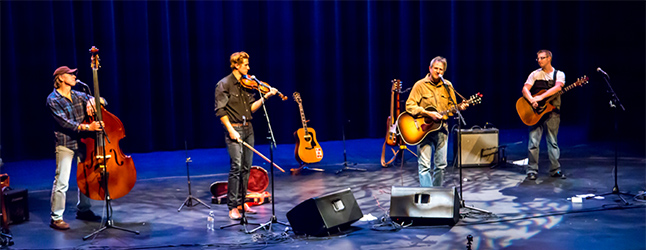 Johnny P Johnson and his compadres brought their energetic brand of 'Ranch Rock', Folk, and Country music to the Performing Arts Centre this past Saturday, on a Kootenay tour that began in Kaslo. Jason Poirtras photo