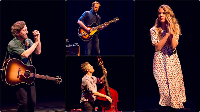 Megan Bonnell & The Great Lake Swimmers played a packed house in Revelstoke. Jason Portras photo