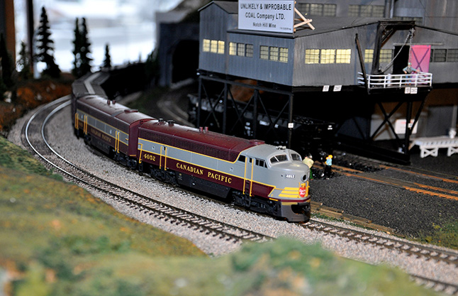 Well, there diorama is very interesting even if there was no coal mining here. George Hopkins photo
